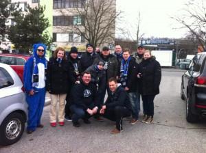 Unsere Reisegruppe auf dem Weg nach Hannover!!!